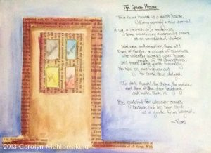 "Rumi ""Guest House"" Art Response 