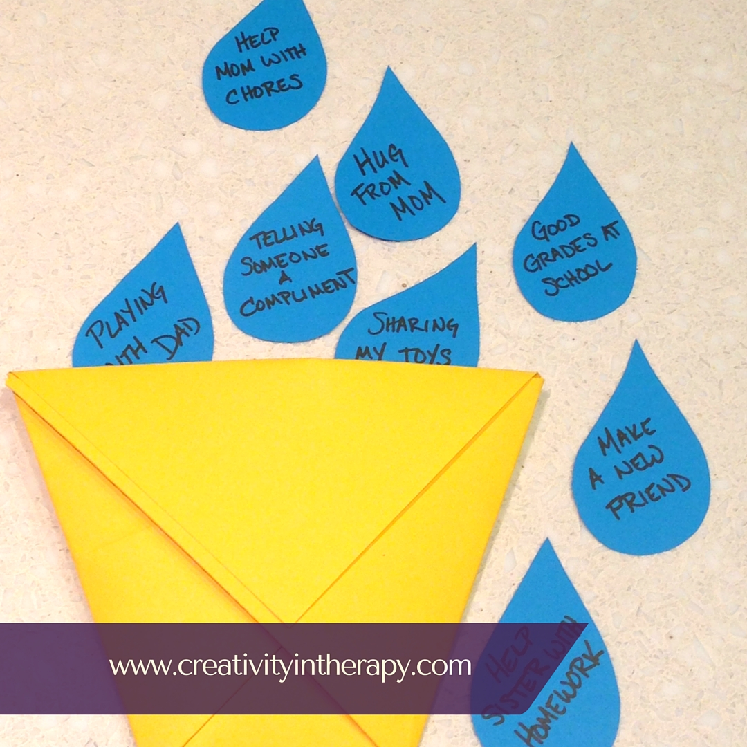 How Full Is Your Bucket Creativity In Therapy
