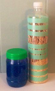 Calm glitter jar - sensory tools   Creativity in Therapy   Carolyn Mehlomakulu