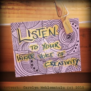 RACK card project | Creativity in Therapy | Carolyn Mehlomakulu