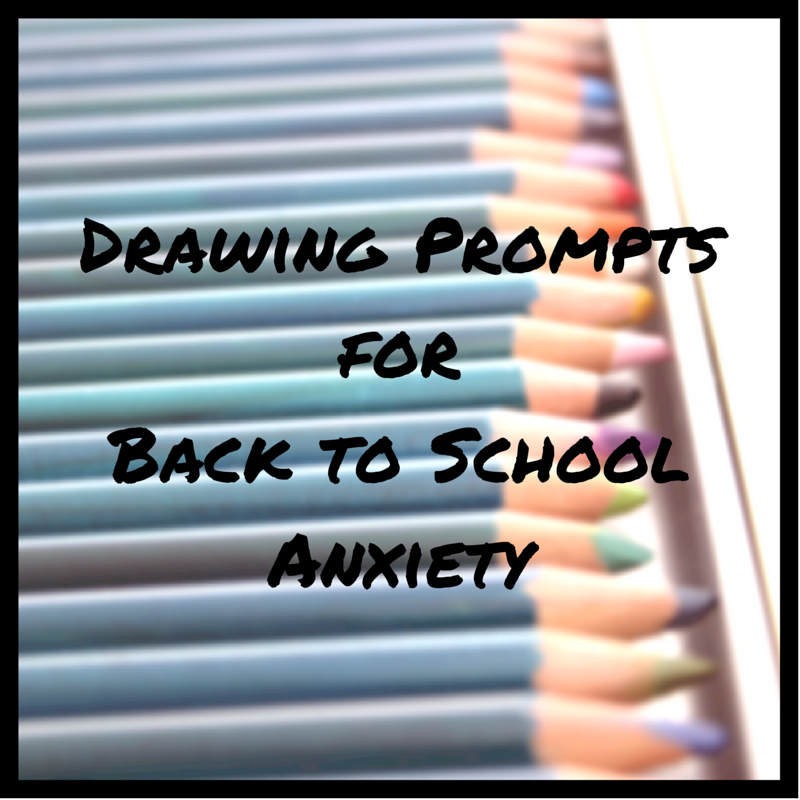 Drawing Prompts for School Anxiety | Creativity in Therapy | Carolyn Mehlomakulu