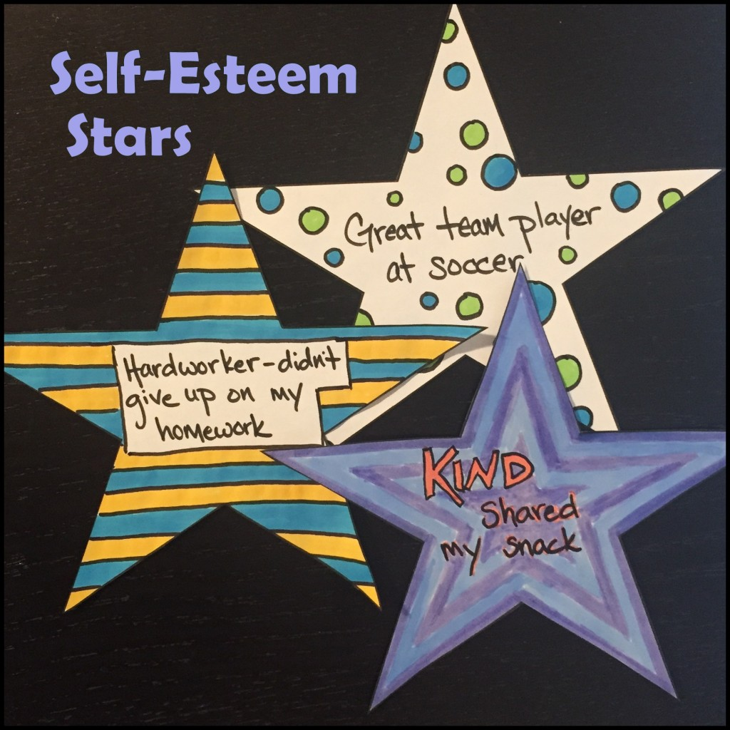 Self Esteem Stars | Creativity in Therapy | Carolyn Mehlomakulu