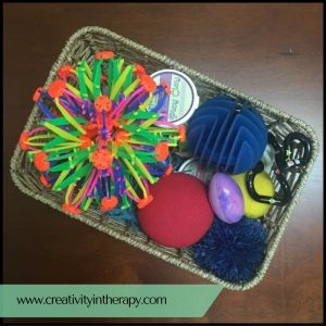 Fidget Basket | Creativity in Therapy | Carolyn Mehlomakulu