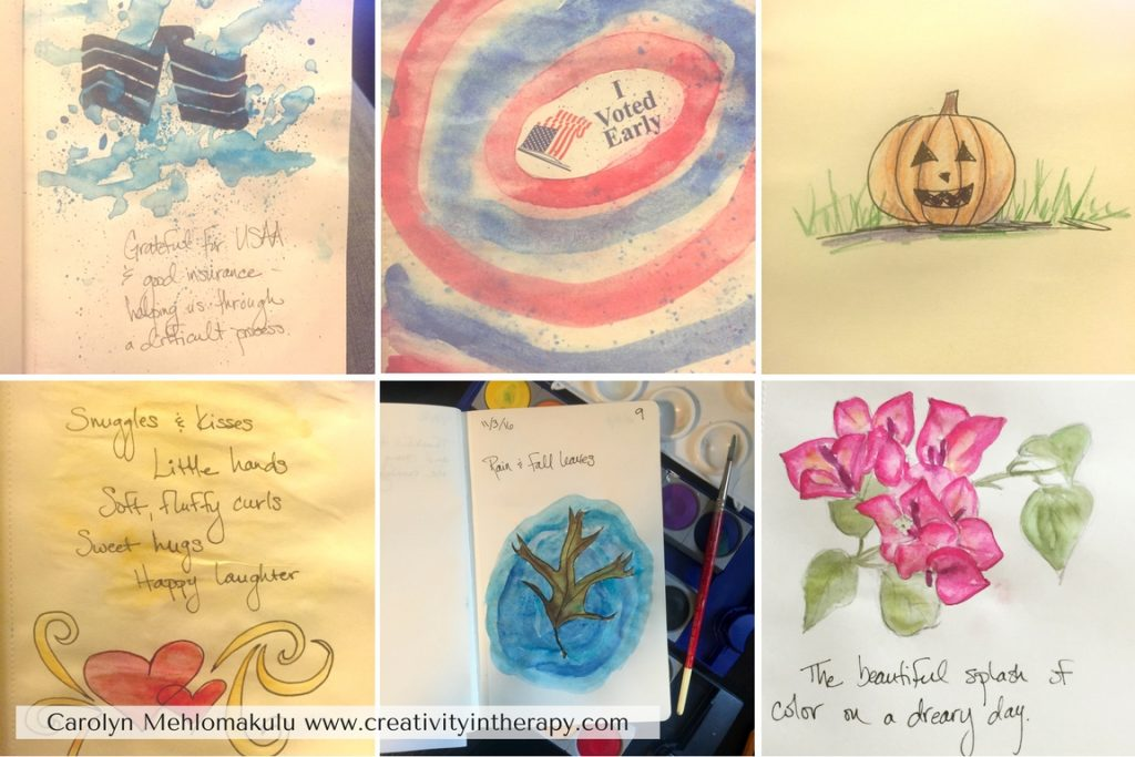 Gratitude Journal | Creativity in Therapy