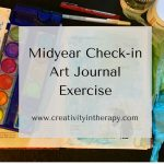 Midyear Check-in Art Journal Exercise