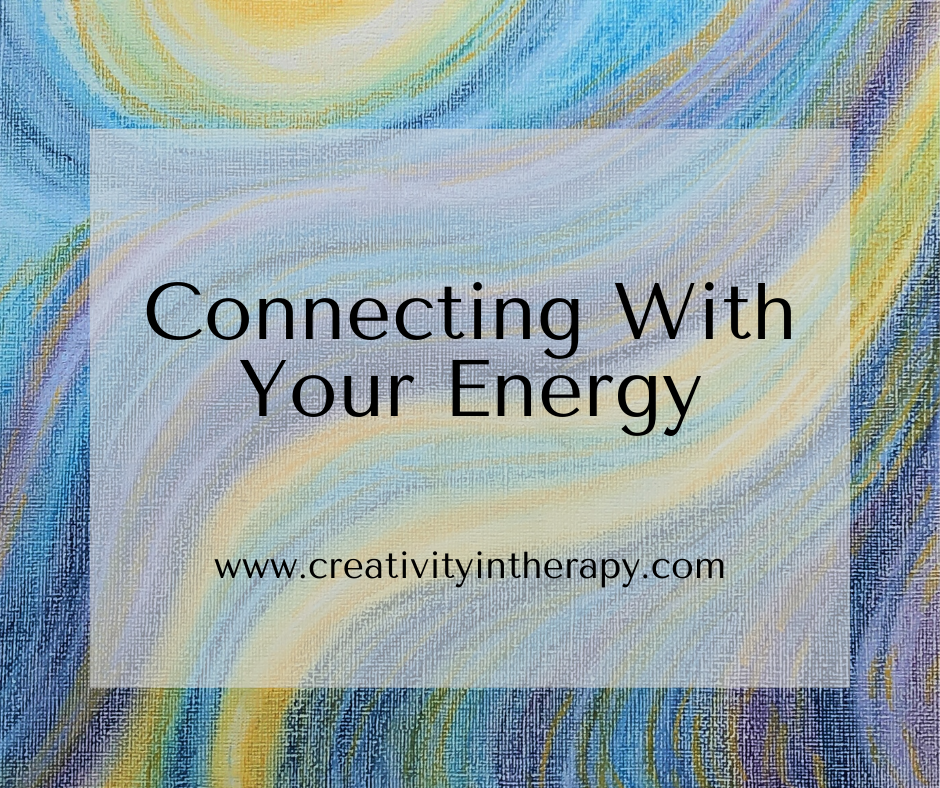 Draw On Your Energy - Art Therapy Directive