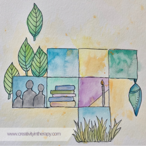 New Year Resolution Art and Journaling