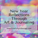 New Year Reflections – Art and Journaling