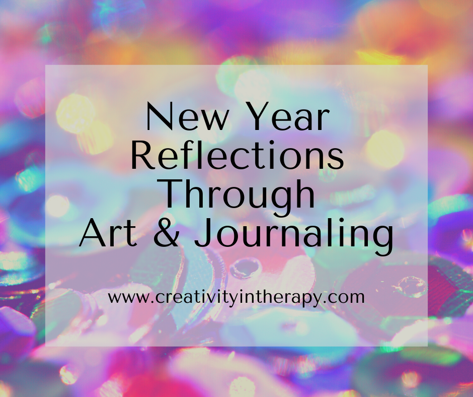 New Year Resolutions Art and Journaling