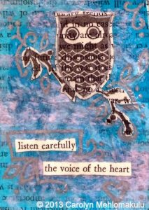 Artist Trading Cards | Creativity in Therapy | Carolyn Mehlomakulu