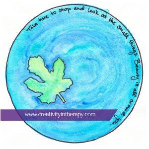 Nature-Inspired Mandala   Creativity in Therapy   Carolyn Mehlomakulu