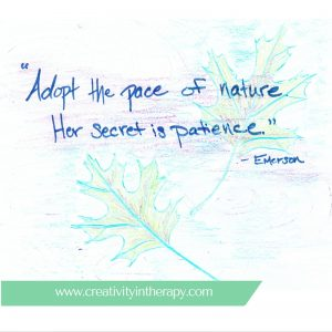 Nature-Inspired Art Therapy   Creativity in Therapy   Carolyn Mehlomakulu