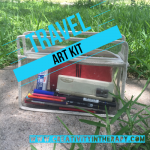 Make An On-The-Go Art Kit for Travel