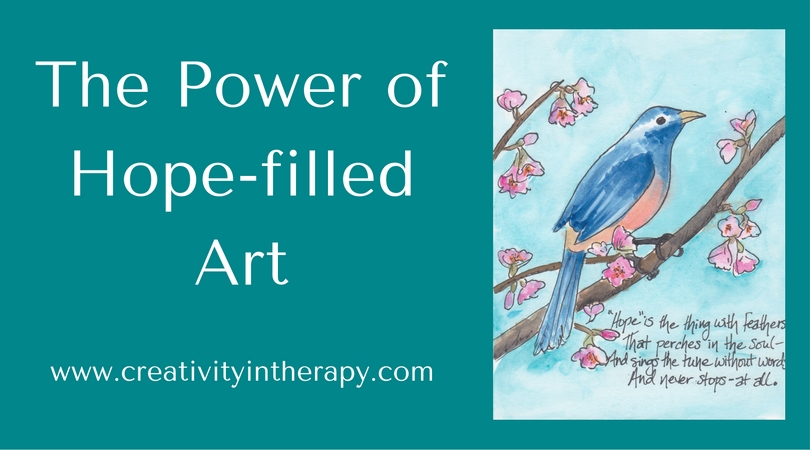 The Power of Hope-filled Art | Creativity in Therapy | Carolyn Mehlomakulu