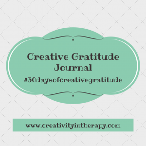 Creative Gratitude Journal | Creativity in Therapy | Carolyn Mehlomakulu