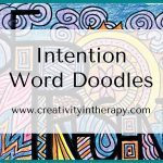Intention Word Doodles