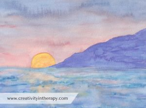 Create a Safe Place Art Therapy Directive | Creativity in Therapy