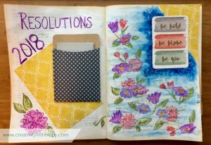 New Years Resolution Art Therapy Journal | Creativity in Therapy