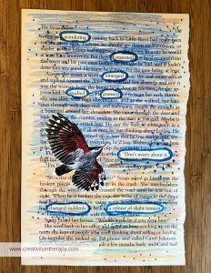 Blackout Poetry and Altered Books - Creativity in Therapy