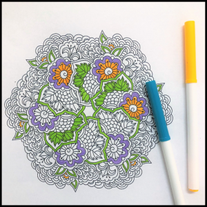 Coloring Books in Art Therapy