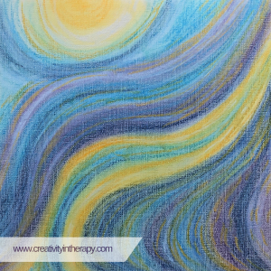 Energy Drawing - Art Therapy Directive