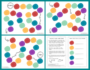 Create Your Own Game Free Printable | Creativity in Therapy